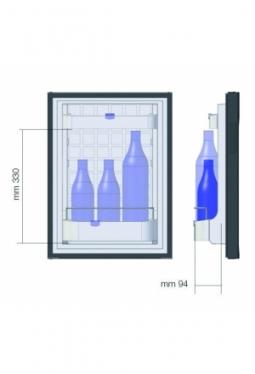 Minibar WEMO 330 Top Class P