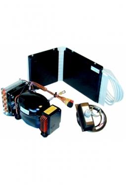 Kompressor-Kühlaggregat mit Winkelspei..