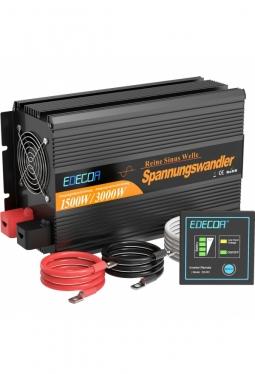Wechselrichter reiner Sinus 1500W 12V