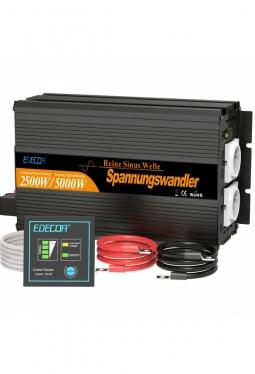 Wechselrichter reiner Sinus 2500W 12V