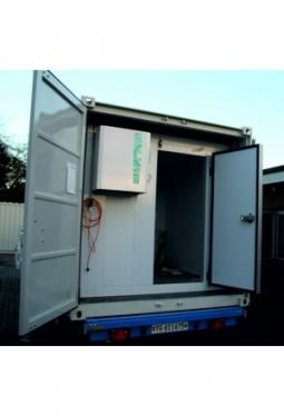 Miet-Tiefkühlcontainer 10 Fuss